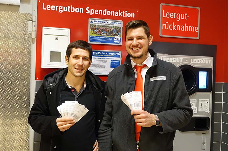 Rewe Spendenaktion